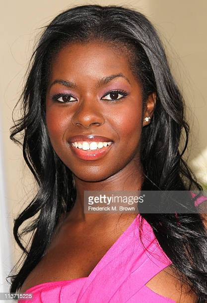 Actress Camille Winbush attends the film premiere of TriStar Pictures' 'Jumping The Broom' at the Arclight Cinerama Dome on May 4 2011 in Los Angeles...