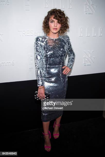 Actress Camren Bicondova attends ELLE E IMG host A Celebration of Personal Style NYFW Kickoff Party on September 6 2017 in New York City