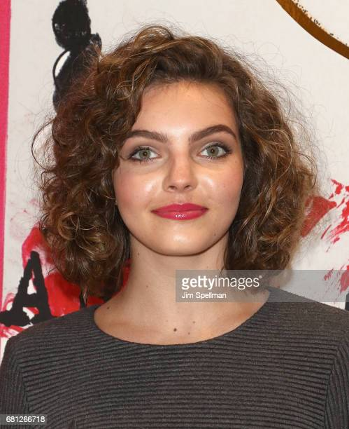 Actress Camren Bicondova attends Plum Skye's 'Party Girls Die In Pearls' book launch celebration at Brooks Brothers on May 9 2017 in New York City