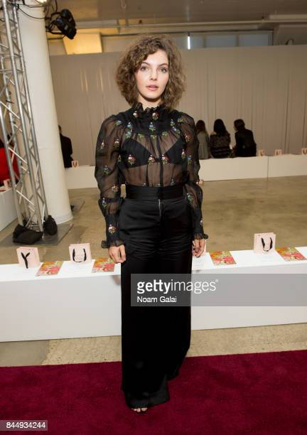 Actress Camren Bicondova attends the Jill Stuart fashion show during New York Fashion Week on September 9 2017 in New York City