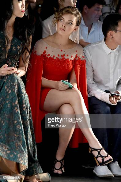 Actress camren bicondova attends the lanyu fashion show during the