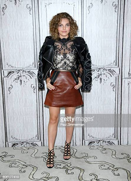 Actress Camren Biocondova attends the BUILD Series to discuss her Role On 'Gotham' September 16 2016 in New York City