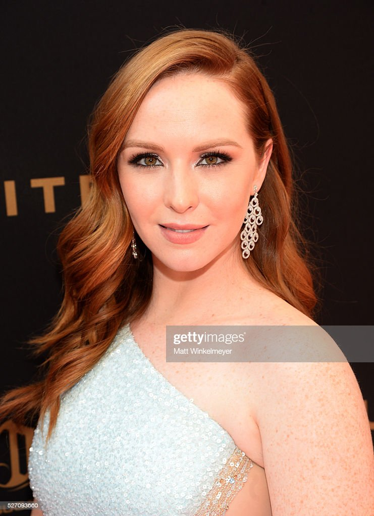 Actress <a gi-track='captionPersonalityLinkClicked' href=/galleries/search?phrase=Camryn+Grimes&family=editorial&specificpeople=663773 ng-click='$event.stopPropagation()'>Camryn Grimes</a> arrives at the 43rd Annual Daytime Emmy Awards at the Westin Bonaventure Hotel on May 1, 2016 in Los Angeles, California.