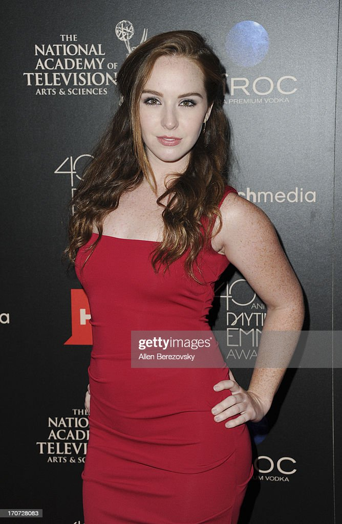Actress Camryn Grimes attends 40th Annual Daytime Entertaimment Emmy Awards at The Beverly Hilton Hotel on June 16, 2013 in Beverly Hills, California.