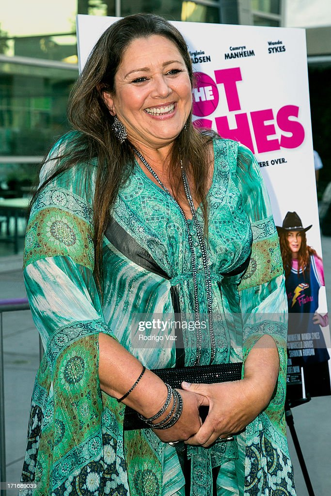 Actress <a gi-track='captionPersonalityLinkClicked' href=/galleries/search?phrase=Camryn+Manheim&family=editorial&specificpeople=204200 ng-click='$event.stopPropagation()'>Camryn Manheim</a> arrives at 'The Hot Flashes' Los Angeles premiere at ArcLight Cinemas on June 27, 2013 in Hollywood, California.