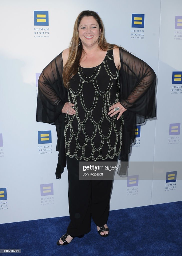 Actress Camryn Manheim arrives at the Human Rights Campaign's 2017 Los Angeles Gala Dinner at JW Marriott Los Angeles at L.A. LIVE on March 18, 2017 in Los Angeles, California.