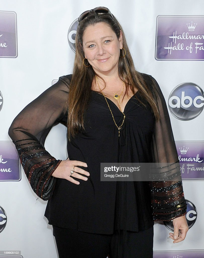 Actress Camryn Manheim arrives at the Los Angeles premiere of 'The Makeover' at Fox Studio Lot on January 22, 2013 in Century City, California.