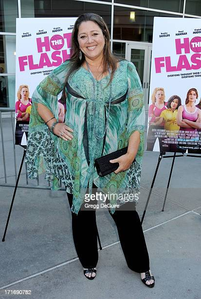 Actress Camryn Manheim arrives at the Los Angeles premiere of 'The Hot Flashes' at ArcLight Cinemas on June 27 2013 in Hollywood California