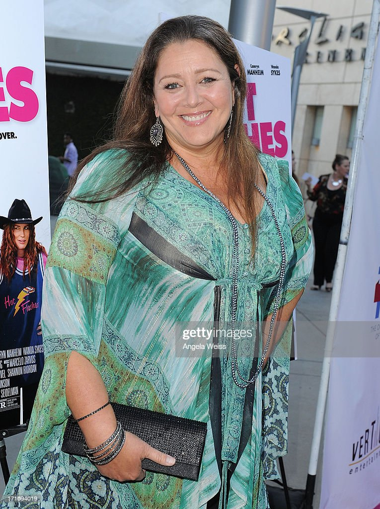 Actress Camryn Manheim arrives at the premiere of 'The Hot Flashes' at ArcLight Cinemas on June 27, 2013 in Hollywood, California.