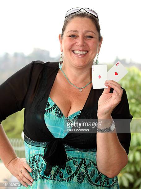 Actress Camryn Manheim attends AFTRA Foundation's Inaugural Frank Nelson Fund Celebrity Poker Party at Mulholland Tennis Club on October 20 2012 in...