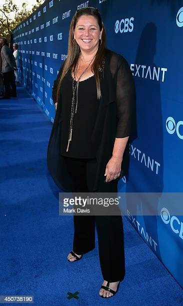 Actress Camryn Manheim attends Premiere Of CBS Television Studios Amblin Television's 'Extant' at California Science Center on June 16 2014 in Los...