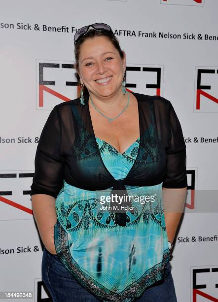 Actress Camryn Manheim attends the AFTRA Foundation's Inaugural Frank Nelson Fund Celebrity Poker Party at the Mulholland Tennis Club on October 20...