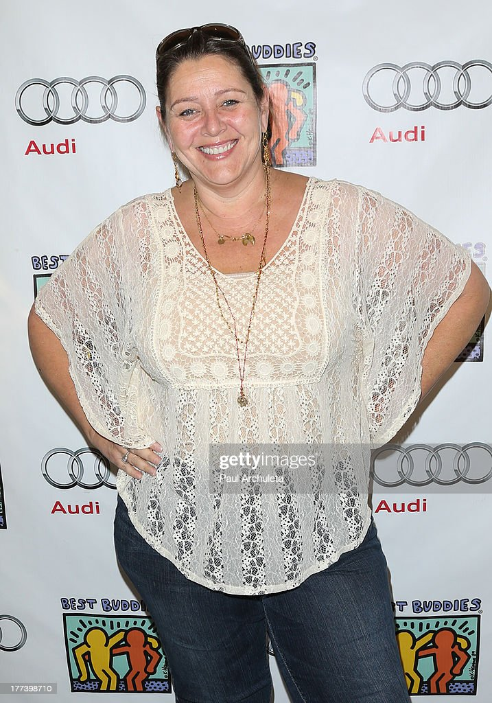 Actress Camryn Manheim attends the Best Buddies celebrity poker charity event at Audi Beverly Hills on August 22, 2013 in Beverly Hills, California.