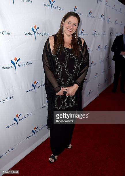 Actress Camryn Manheim attends the Venice Family Clinic Silver Circle Gala 2016 honoring Brett Ratner and Bill Flumenbaum at The Beverly Hilton Hotel...