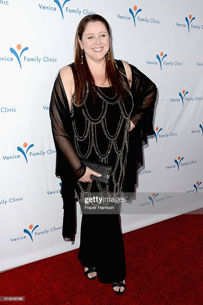 Actress Camryn Manheim attends the Venice Family Clinic Silver Circle Gala 2016 honoring Brett Ratner and Bill Flumenbaum at The Beverly Hilton Hotel on March 7, 2016 in Beverly Hills, California.