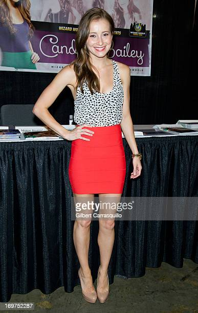 Actress Candace Bailey attends Philadelphia Comic Con 2013 Day 2 at the Pennsylvania Convention Center on May 31 2013 in Philadelphia Pennsylvania