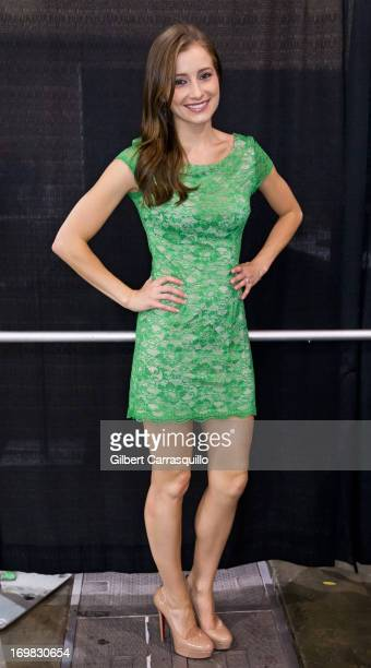 Actress Candace Bailey attends Philadelphia Comic Con 2013 Day 4 at the Pennsylvania Convention Center on June 2 2013 in Philadelphia Pennsylvania