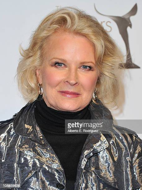Actress Candace Bergen poses in the press room of the 2011 Writers Guild Awards on February 5 2011 in Hollywood California