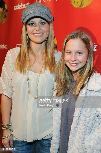 Actress Candace Cameron Bure and...
