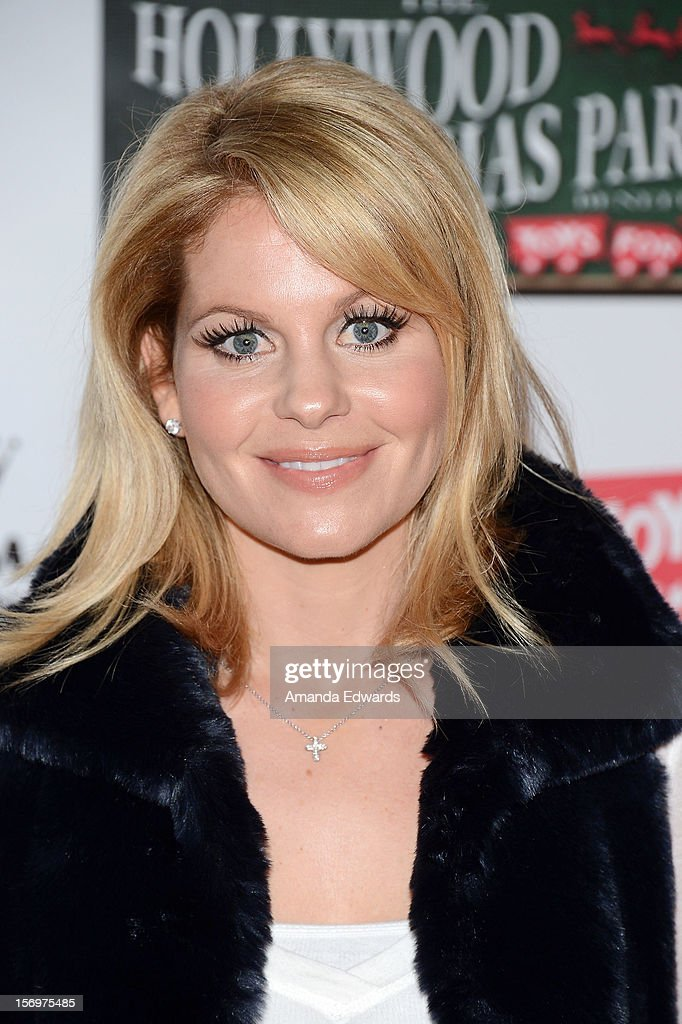 Actress Candace Cameron Bure arrives at the 2012 Hollywood Christmas Parade Benefiting Marine Toys For Tots on November 25, 2012 in Hollywood, California.