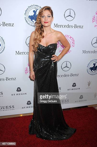Actress Candace Cameron Bure arrives at the 2014 Carousel Of Hope Ball Presented By MercedesBenz at The Beverly Hilton Hotel on October 11 2014 in...
