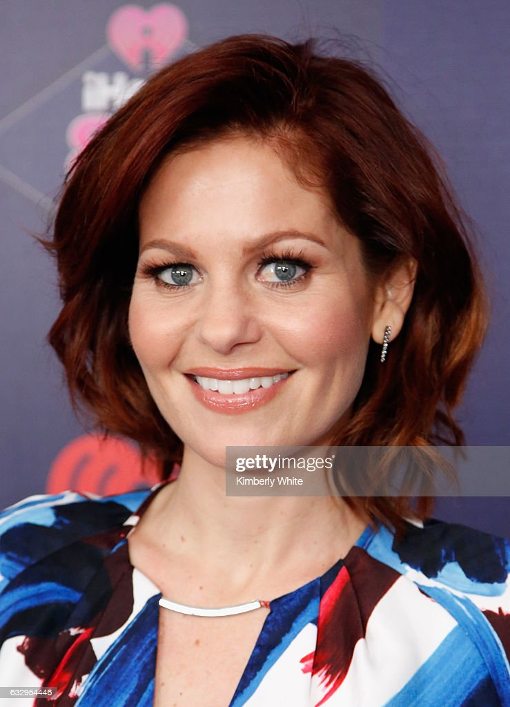 Actress Candace Cameron Bure arrives at the iHeart80s Party 2017 at SAP Center on January 28, 2017 in San Jose, California.