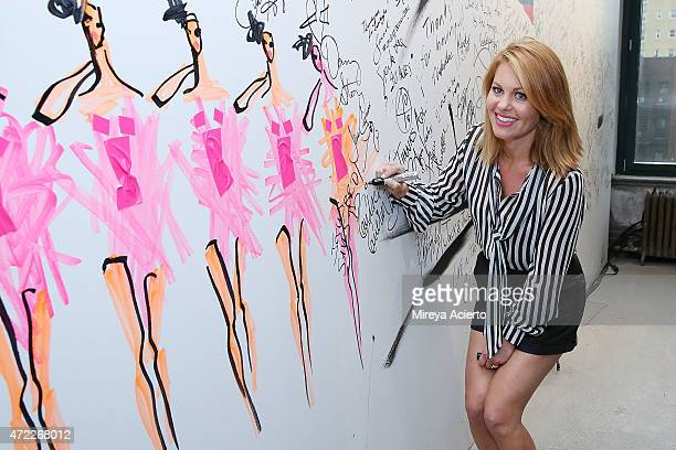 Actress Candace Cameron Bure attends the AOL BUILD Speaker Series at AOL Studios on May 5 2015 in New York City