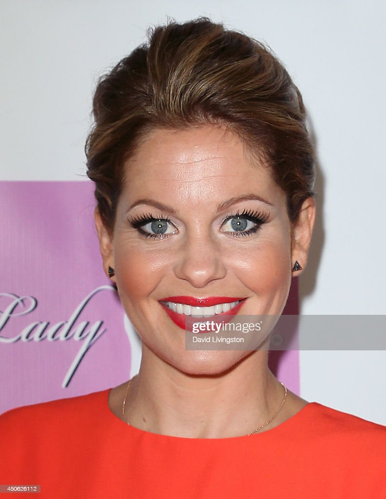 Actress <a gi-track='captionPersonalityLinkClicked' href=/galleries/search?phrase=Candace+Cameron+Bure&family=editorial&specificpeople=699962 ng-click='$event.stopPropagation()'>Candace Cameron Bure</a> attends the LadyLike Foundation's 6th Annual Women of Excellence Scholarship Luncheon at the Luxe Hotel on June 14, 2014 in Los Angeles, California.