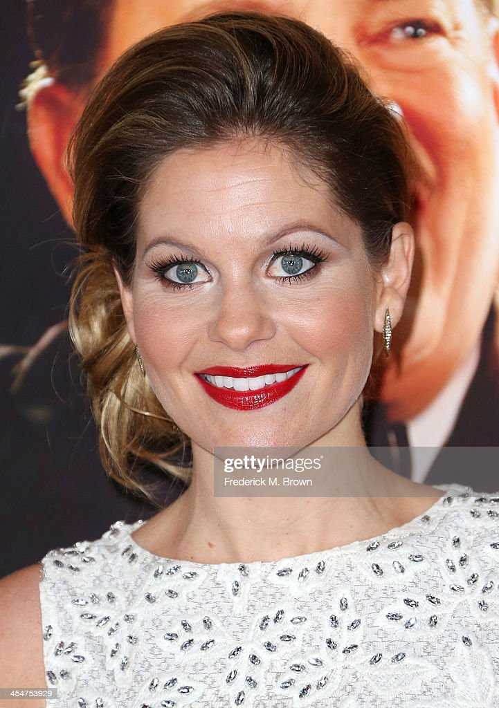 Actress <a gi-track='captionPersonalityLinkClicked' href=/galleries/search?phrase=Candace+Cameron+Bure&family=editorial&specificpeople=699962 ng-click='$event.stopPropagation()'>Candace Cameron Bure</a> attends the Premiere of Disney's 'Saving Mr. Banks' at Walt Disney Studios on December 9, 2013 in Burbank, California.