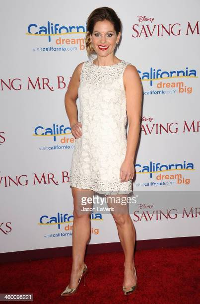 Actress Candace Cameron Bure attends the premiere of 'Saving Mr Banks' at Walt Disney Studios on December 9 2013 in Burbank California