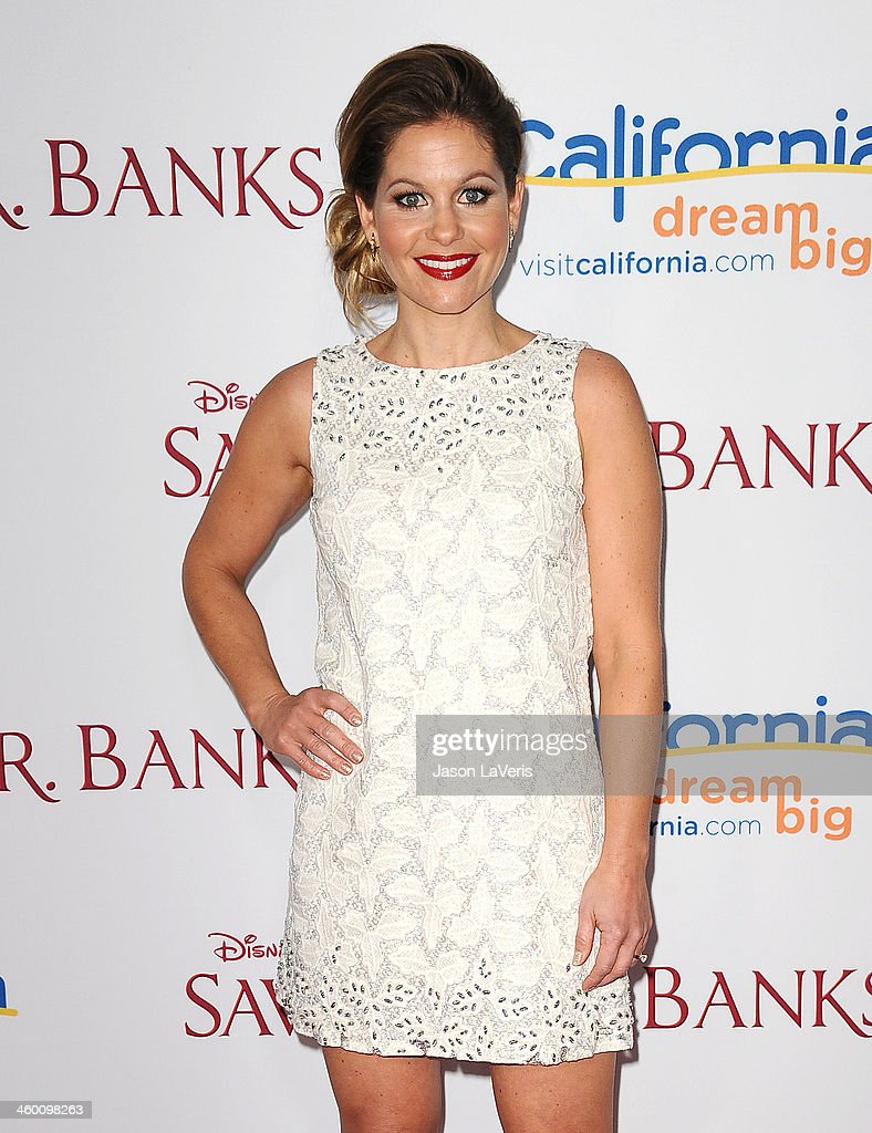Actress <a gi-track='captionPersonalityLinkClicked' href=/galleries/search?phrase=Candace+Cameron+Bure&family=editorial&specificpeople=699962 ng-click='$event.stopPropagation()'>Candace Cameron Bure</a> attends the premiere of 'Saving Mr. Banks' at Walt Disney Studios on December 9, 2013 in Burbank, California.