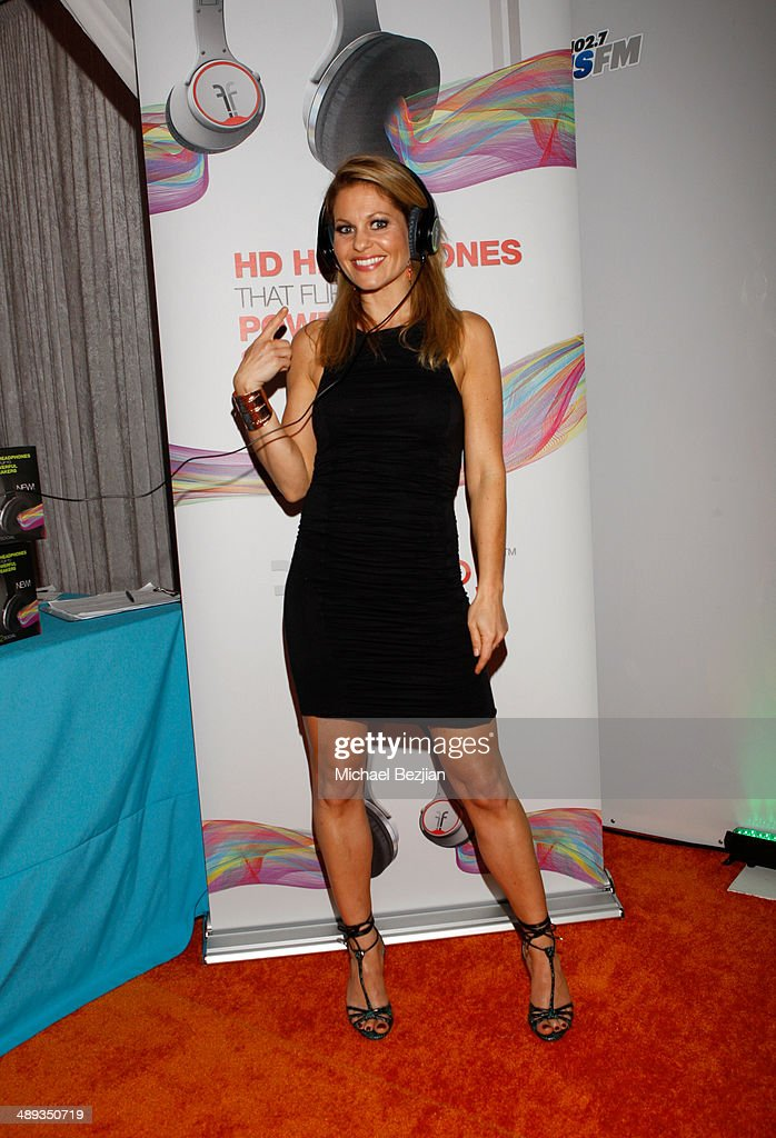 Actress <a gi-track='captionPersonalityLinkClicked' href=/galleries/search?phrase=Candace+Cameron+Bure&family=editorial&specificpeople=699962 ng-click='$event.stopPropagation()'>Candace Cameron Bure</a> with Flips Audio, the exclusive headphone sponsor of 102.7 KIIS FM's 2014 Wango Tango backstage at StubHub Center on May 10, 2014 in Los Angeles, California.
