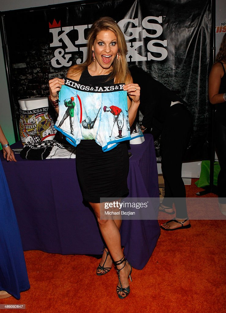 Actress Candace Cameron Bure with Flips Audio, the exclusive headphone sponsor of 102.7 KIIS FM's 2014 Wango Tango backstage at StubHub Center on May 10, 2014 in Los Angeles, California.