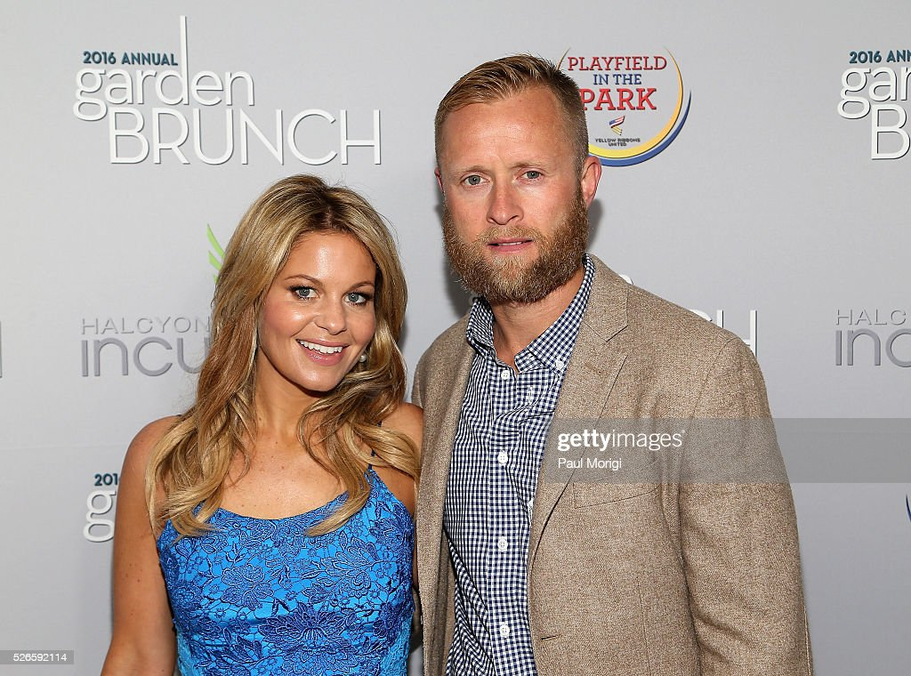 Actress Candace Cameron-Bure (L) and <a gi-track='captionPersonalityLinkClicked' href=/galleries/search?phrase=Valeri+Bure&family=editorial&specificpeople=204484 ng-click='$event.stopPropagation()'>Valeri Bure</a> attend the Garden Brunch prior to the 102nd White House Correspondents' Association Dinner at the Beall-Washington House on April 30, 2016 in Washington, DC.