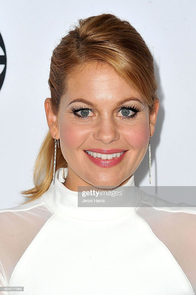 Actress Candace Cameron-Bure arrives at the Disney/ABC 2016 Winter TCA Tour at the Langham Hotel on January 9, 2016 in Pasadena, California.