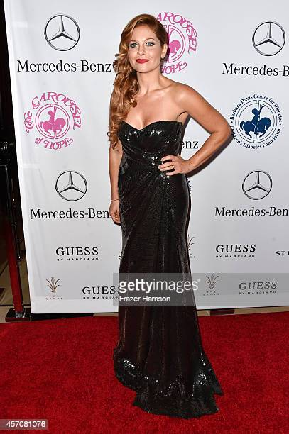 Actress Candace CameronBure attends the 2014 Carousel of Hope Ball presented by MercedesBenz at The Beverly Hilton Hotel on October 11 2014 in...