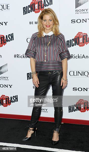 Actress Candace CameronBure attends the 'Ricki And The Flash' New York premiere at AMC Lincoln Square Theater on August 3 2015 in New York City
