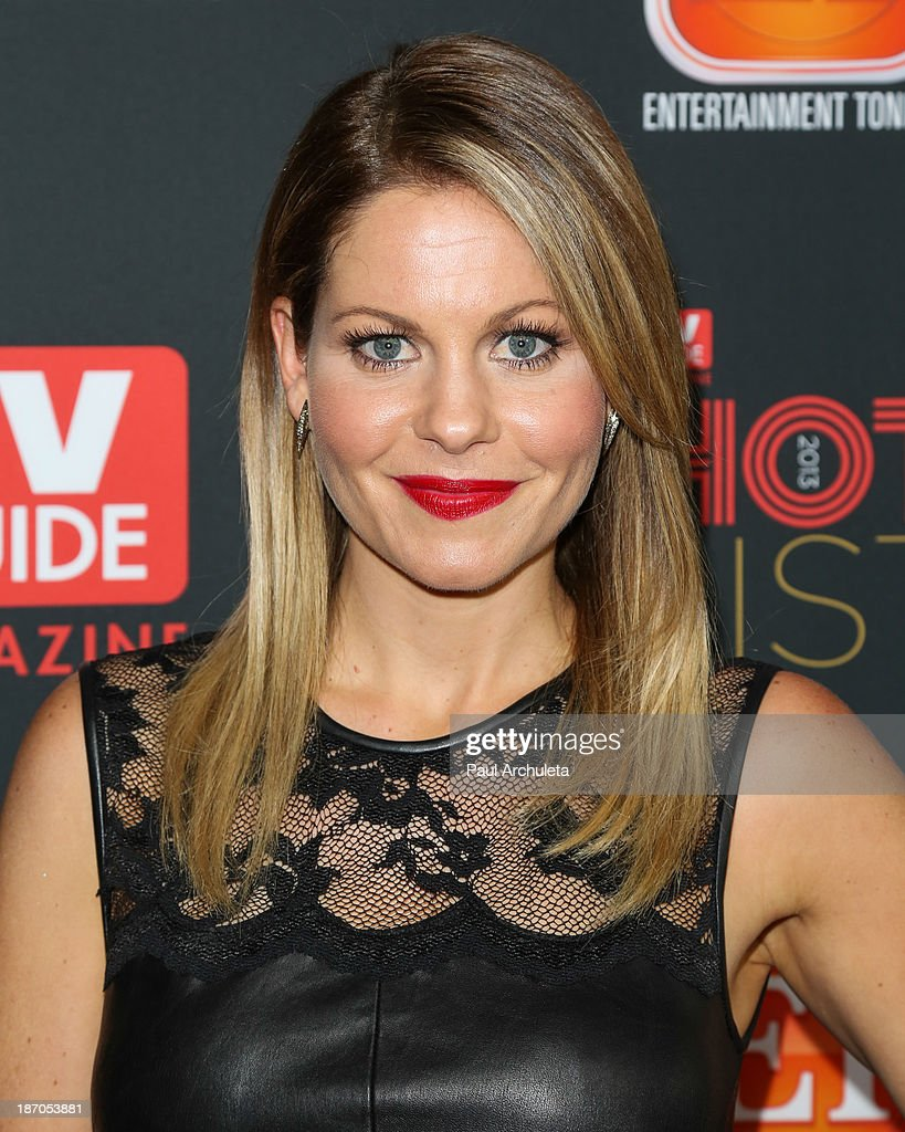 Actress Candace Cameron-Bure attends TV Guide magazine's annual Hot List Party at The Emerson Theatre on November 4, 2013 in Hollywood, California.