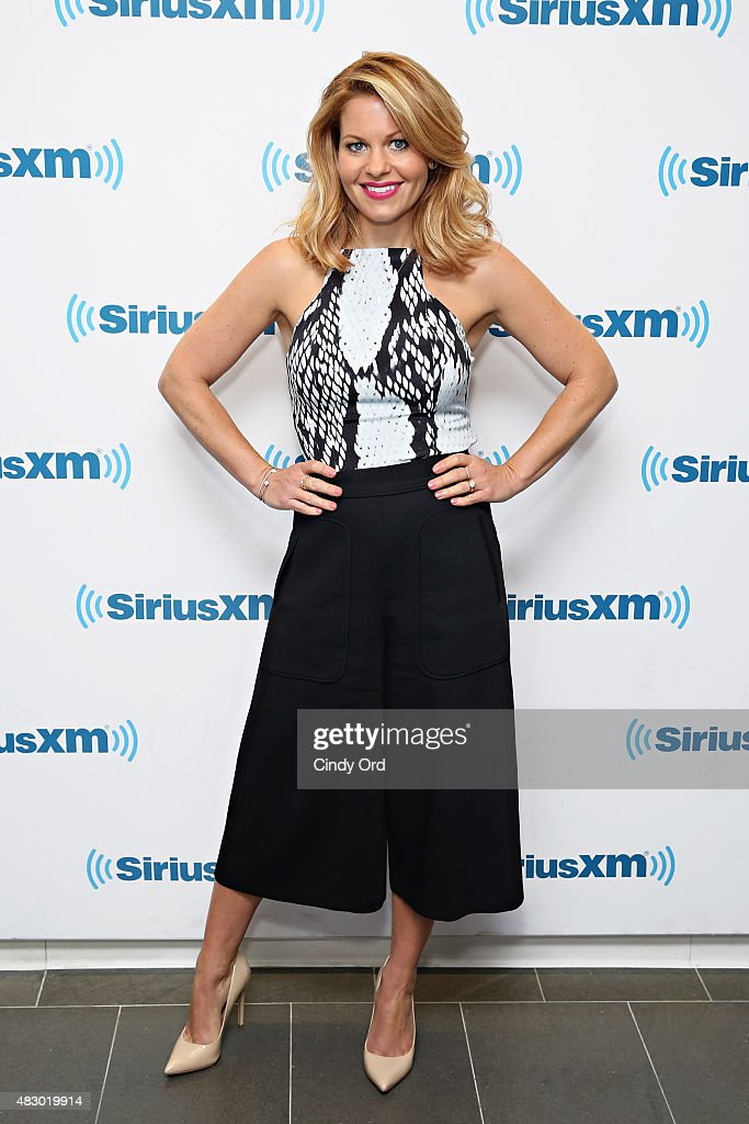 Actress Candace CameronBure visits the SiriusXM Studios on August 5 2015 in New York City