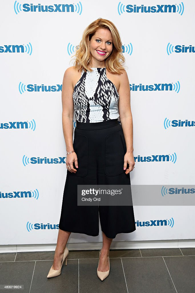 Actress Candace Cameron-Bure visits the SiriusXM Studios on August 5, 2015 in New York City.