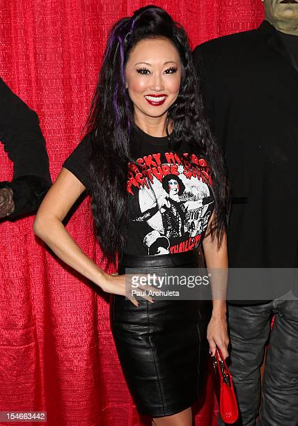 Actress Candace Kita attends the Blood Magazine launch party at Infusion Lounge on October 23 2012 in Universal City California