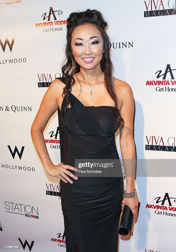 Actress Candace Kita attends the Viva Glam Magazine Summer 2013 issue launch party at W Hollywood on August 25, 2013 in Hollywood, California.