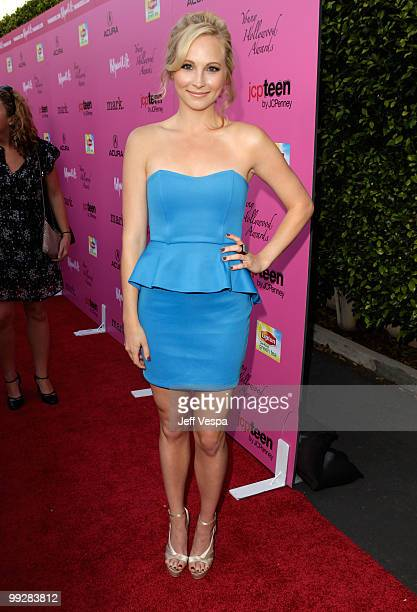 Actress Candice Accola arrives at the 12th annual Young Hollywood Awards sponsored by JC Penney Mark Lipton Sparkling Green Tea held at the Ebell of...