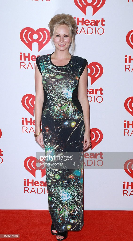 Actress Candice Accola attends day 2 of the 2012 iHeartRadio Music Festival at MGM Grand Garden Arena on September 22, 2012 in Las Vegas, Nevada.
