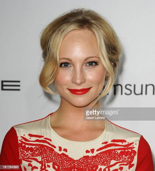 Actress Candice Accola attends the Hollywood Reporter's celebration of the Emmys at Soho House on September 19 2013 in West Hollywood California