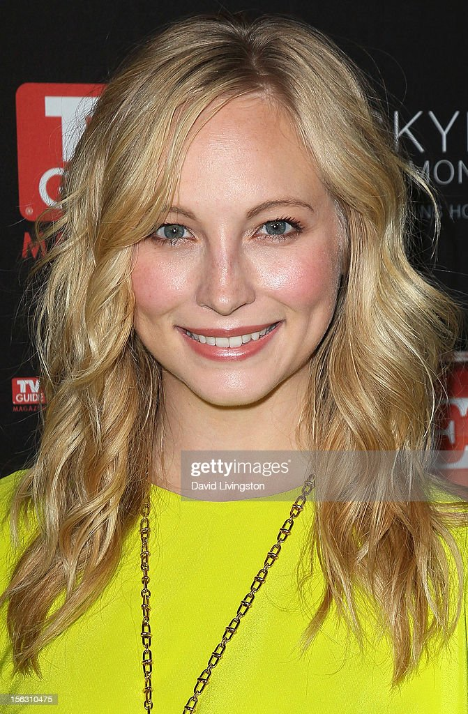 Actress Candice Accola attends TV Guide Magazine's 2012 Hot List Party at SkyBar at the Mondrian Los Angeles on November 12, 2012 in West Hollywood, California.