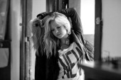 Actress Candice Accola poses at a portrait session for Nylon Magazine on July 05 2010 in Los Angeles California