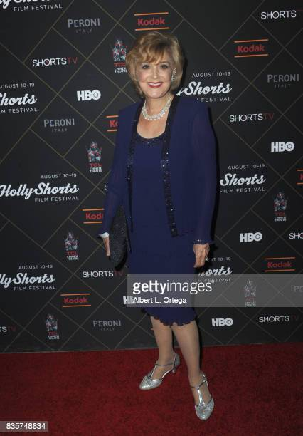 Actress Candice Azzara arrives for the HollyShorts Film Festival Closing Night Film 'This Is Meg' held at TCL Chinese 6 Theatres on August 19 2017 in...