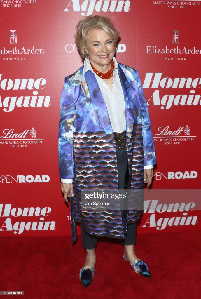Actress Candice Bergen attends the screening of Open Road Films' 'Home Again' hosted by The Cinema Society with Elizabeth Arden and Lindt Chocolate at The Paley Center for Media on September 6, 2017 in New York City.