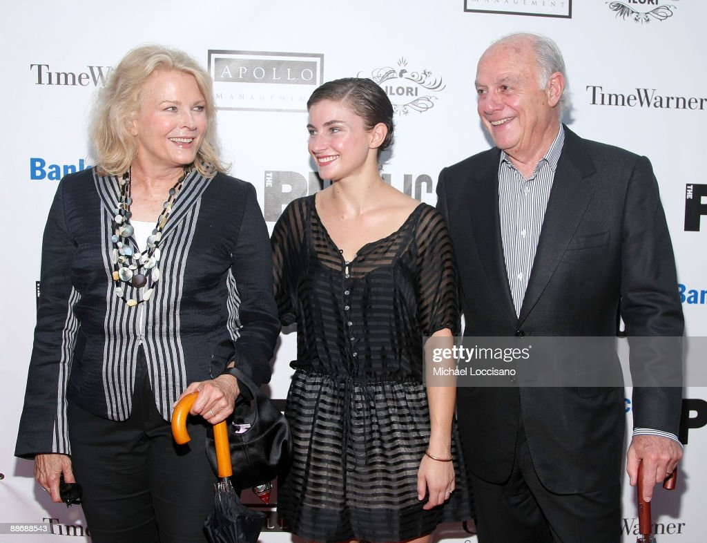 Actress Candice Bergen (L), her daughter Chloe Malle and Bergen's husband Marshall Rose attends the 2009 Shakespeare in the Park opening night gala performance of 'Twelfth Night' at the Delacorte Theater on June 25, 2009 in New York City.